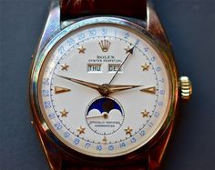 Rolex 6062 Star-Dial which sold for an astounding $542,500 at Christie's in NYC, produced from 1948 - 1953 in only 500 pieces.