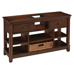 Magnussen Home Console Table - Tobacco