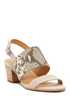 Image of Lucky Brand Gewel Block Heel Sandal
