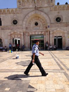 Security at the downtown mosque @CETAcademicPrograms
