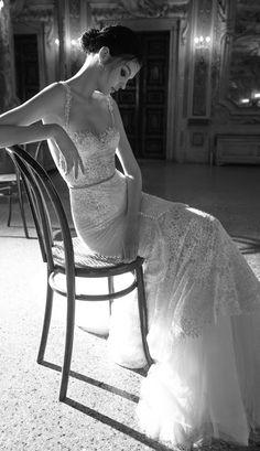 Inbal Dror 2015 Bridal Collection - Part 1 - Belle The Magazine 2015 Wedding Dresses, Wedding Attire, Wedding Bride, Wedding Gowns, Dream Wedding, Wedding Blog, Lace Wedding, Lace Bride, Mermaid Wedding