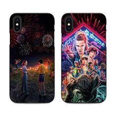 stranger things season 3 phone case for iPhone X XR XS MAX 6 7 8 plus 5 se for Apple soft Silicone black cover