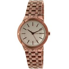 Dkny Women's Park Slope NY2492 Rose-Gold Stainless-Steel Quartz Watch