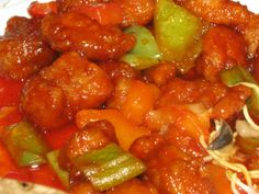 Sweet and Sour Pork, Hong Kong Style   Dicky To's Inspirational Writings