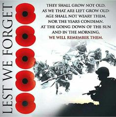 """Today is the of November, One-Hundred years ago today, marked the end of what was at the time, the bloodiest war to date. The Centennial Anniversary of Armistice. """"We must never forget what they gave so we may live. Let not their death be in vain. Remembrance Day Photos, Remembrance Day Poppy, Canadian Soldiers, Canadian Army, Inspirational Poems About Life, Poppy Photo, Armistice Day, Army Quotes, Templer"""