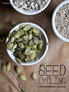 Seed cycling is the use of different seeds to provide our bodies with the raw elements it needs to maintain hormonal balance.