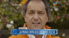 """Las pruebas contra Scioli"" por H.Macchiavelli en ""La cornisa"" de L.Maju..."