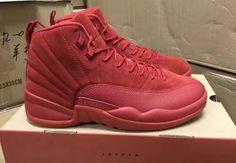 Air Jordan 12 Red Suede