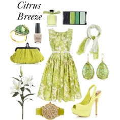 Citrus Breeze - even though it's yellow, I'm loving this!