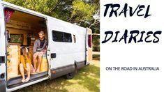 Van Life Australia │Travel Diaries │Back on the Road - Van Life The Road, Iveco Daily Camper, Us Travel, Travel Bags, Australia Travel, Recreational Vehicles, Diaries, Life, Camper Van