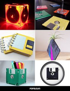 Genius Ways to Upcycle Your Floppy Disks                                                                                                                                                                                 More