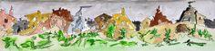L'arte di Vittorio Amadio: Once Upon A Time. C'era una volta Vicino alla città di Mira Mas Allá, qualche chilometro più a nord, sorgeva un piccolo borgo di case diroccate che, abitato da un solo essere umano, si diceva fosse il regno dell'invidia nascosta...