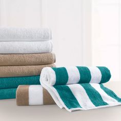 30 x 66 Plush Pool Towels 100% Cotton Towel with Ringspun Cotton