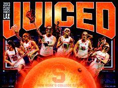 Orange Women's Lacrosse 2013 • Juiced