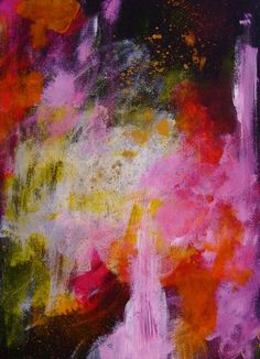Abstract Art Abstract Painting Abstract by CelineArtGalerie, €55.00