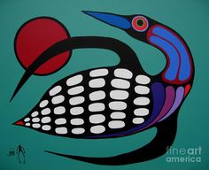 The Majestic Loon Painting