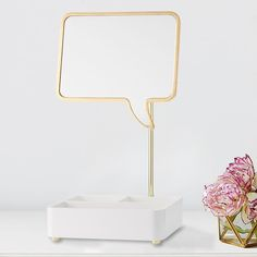 This beauty organizer makes a superfun statement! Designed with DIY internet-sensation Meg DeAngelis, this MayBaby collection captures her playful style. Plus, 25% of the purchase price from the MayBaby Quote Me Mirror Beauty Storage will go directly toward Teen Cancer America, an organization designed to help hospitals and health care professionals bridge the gap between pediatric and adult oncology care.