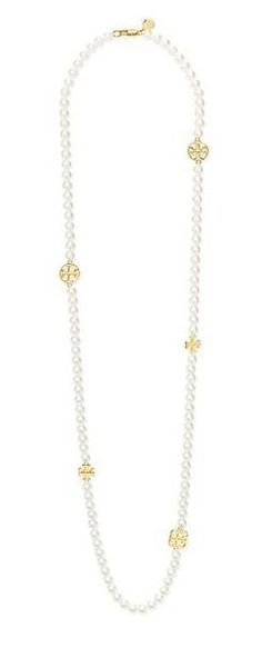 Lighter Exposure: Tory Burch Evie Long Necklace