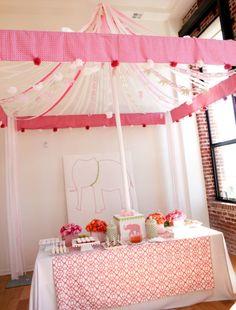 #babyshower design #babyshower flowers and design #atelier joya event design and florals Elephant Circus Baby Shower Theme Ideas for Girls, Boys, Gender Neutral, Gender Reveal Party Ideas