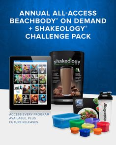 It's HERE!!!  The best deal ever offered by Beachbody!  Every Workout Program in the History of Beachbody, plus all new releases on 2017...plus Shakeology and Fixate???  Yes Please!!!  (it's only here for a limited time...)