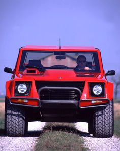 Lamborghini LM 002 Put that in your pipe and smoke it, you ugly Hummer