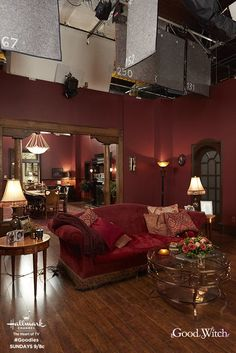 """Quiet on the set! We're rolling with """"Good Witch,"""" Season 4 premiering Sunday April 29 at only on Hallmark Channel! Kids Bedroom Sets, Guest Bedrooms, Farmhouse Bedroom Decor, Home Decor Bedroom, Layout Design, Small Room Interior, Ikea, Olive Garden, Grey Houses"""