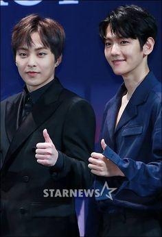 Xiumin e Baekhyun EXO