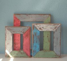 Custom Wedding Picture Frame Made from Reclaimed by TheArtofChic, $20.00