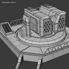futuristic+gun+turrets   max futuristic missile turret - Missile Turret... by bitonicus