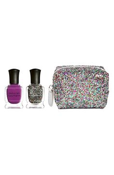 Deborah Lippmann Best of Both Worlds' Mini Nail Lacquer Duet Set incl. Between the Sheets & Happy Birthday. Love at only $19!