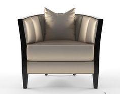 Christopher guy Iribe armchair 3D Model