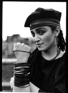 Madonna by Peter Anderson (1983, Soho, London)