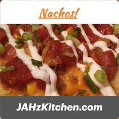 I could go for some Nachos. Take a look at some Nacho Platters pics for some inspiration or create your own with a few suggestions to spark your creativity. Cilantro Cream Sauces, Flavored Cream Cheeses, Breakfast Nachos, Seven Layer Dip, Creamed Onions, Recipe Tonight, Taco Sauce, Cheese Curds, Pulled Pork
