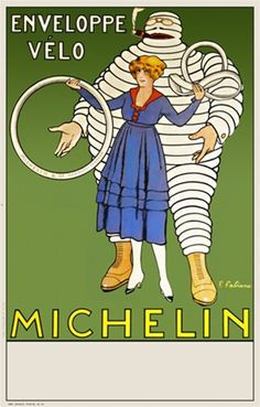 Title: Michelin Artist: Fabiano Circa: 1910 Origin: France