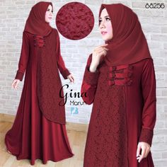 gina maroon Rp120rb, maxi tgn pjg, variasi kancing depan, spandex korea kombi brukat, ld 100 smp 110 pjg 141 lb 260, no pashmina, berat 550gram  contact us  FB fanpage: Toko Alyla  line@: @alylagamis  WA: 0812-8045-6905    toko online baju muslim  gamis murah  hijab murah  supplier hijab  konveksi gamis  agen jilbab