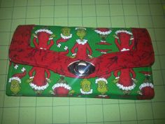 A Christmas Necessary Clutch Wallet!!  | sewing pattern from emmalinebags.com