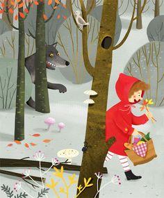 Red Riding Hood. Aga Kowalska.