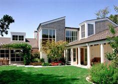 Contemporary shingle house