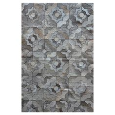 Marrakech Hide Rug in Grey [from the Textured Ground event at Joss and Main!]
