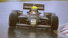 Ayrton Senna, Rainmaster