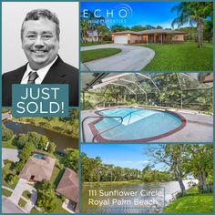 Our super-agent Charlie Gale has just sold this gorgeous 3BR/2BA home with peaceful water views, located on a navigable canal in Royal Palm Beach.  This wonderful waterfront home only spent 20 days on the market!  Contact Charlie for all your Real Estate needs:  ☎️561.319.3742 ✉️Charlie@EchoFineProperties.com  #Realtor #RealEstate #LuxuryRealEstate #FloridaHomes #FloridaRealEstate #JustSold #NewHome #Congrats #HouseHunting #HomeSweetHome Royal Palm Beach, Flo Rida, Waterfront Homes, Luxury Real Estate, Sweet Home, New Homes, Outdoor Decor, House Beautiful