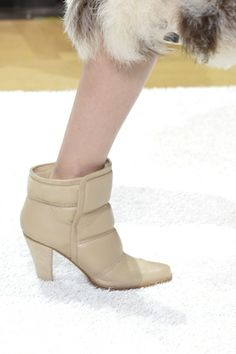 Chloé ankle boots Fall-Winter 2014 Runway #FW14 #PFW