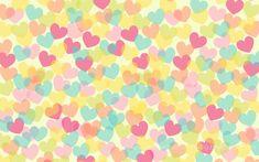Lovely Charlotte: Fondo de escritorio de corazones ♥