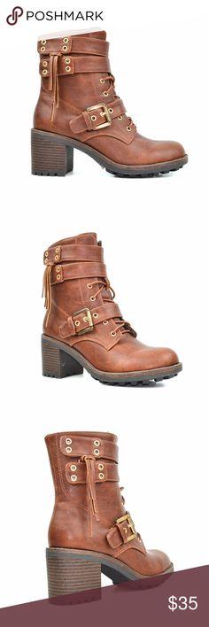 Qupid Womens York14x Boot  Taupe  1NEVY5AAY