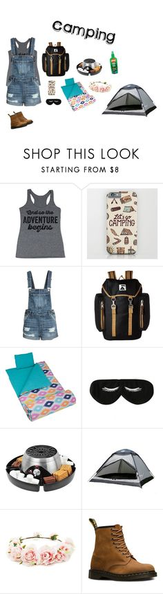 """""""#SUMMER CAMPING"""" by fashionbyrikki ❤ liked on Polyvore featuring Poler, Wildkin, BaubleBar, Home Decorators Collection, Forever 21 and Dr. Martens"""