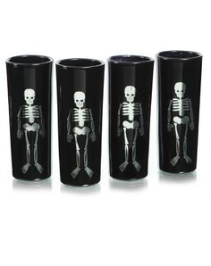 4 pack black shot glasses at spirit halloween serve up some halloween poison in these - Spirit Halloween Medford Ma