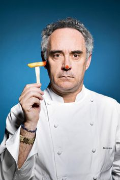 And for my next trick... Ferran Adrià, the world's greatest chef, brings his magic to the capital