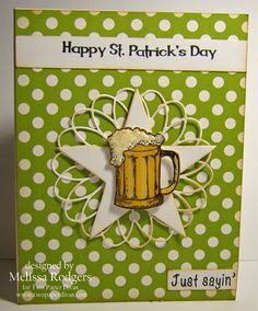 Happy St. Patrick's Day by TwoPaperDivas - Cards and Paper Crafts at Splitcoaststampers