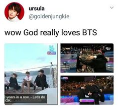 U know their good when even god loves them