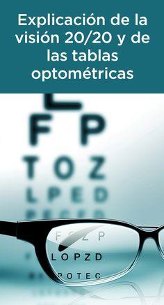 2ede200410 Descubra qué significa 20 20 y cómo funcionan las tablas optométricas.